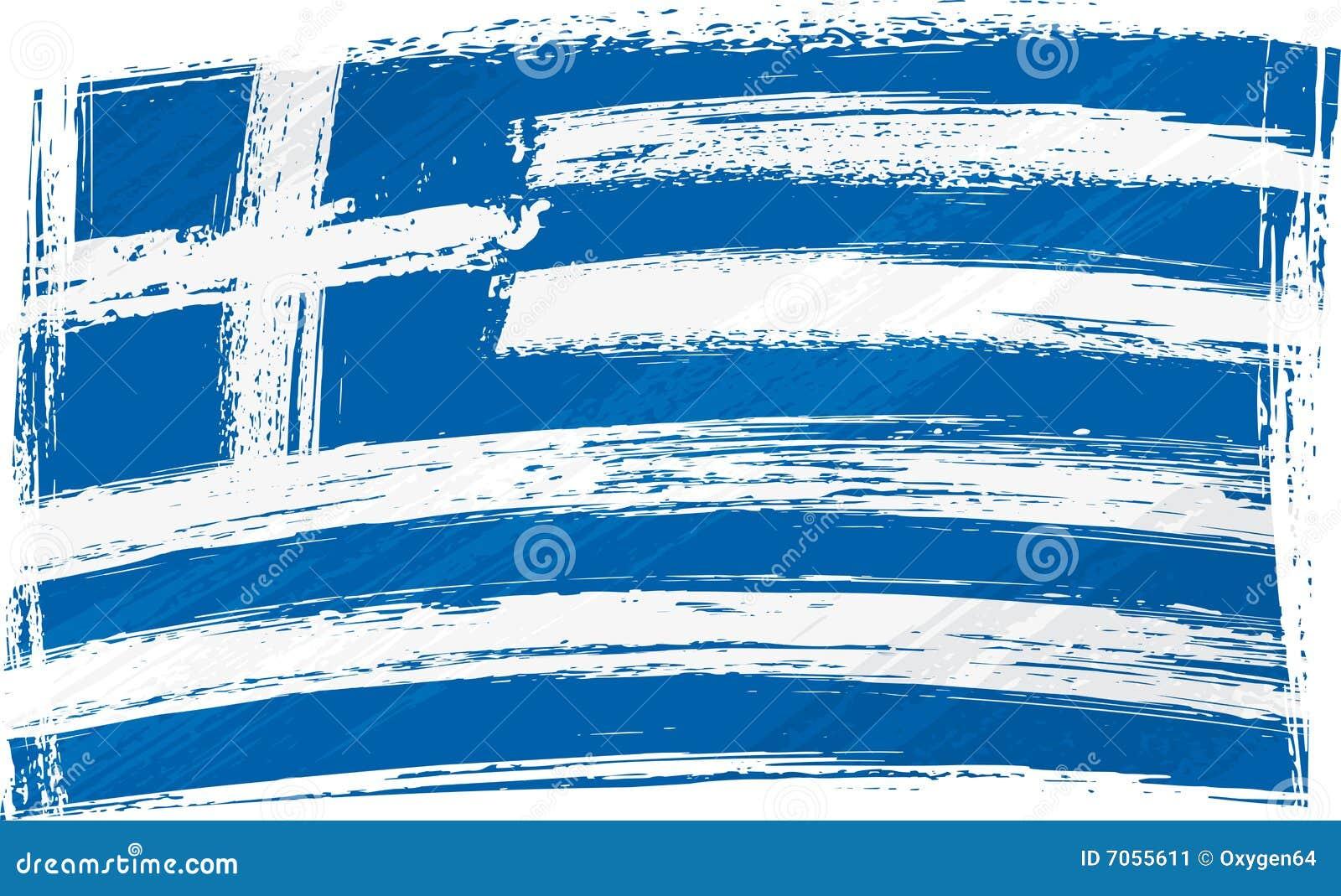 Indicateur grunge de la Grèce