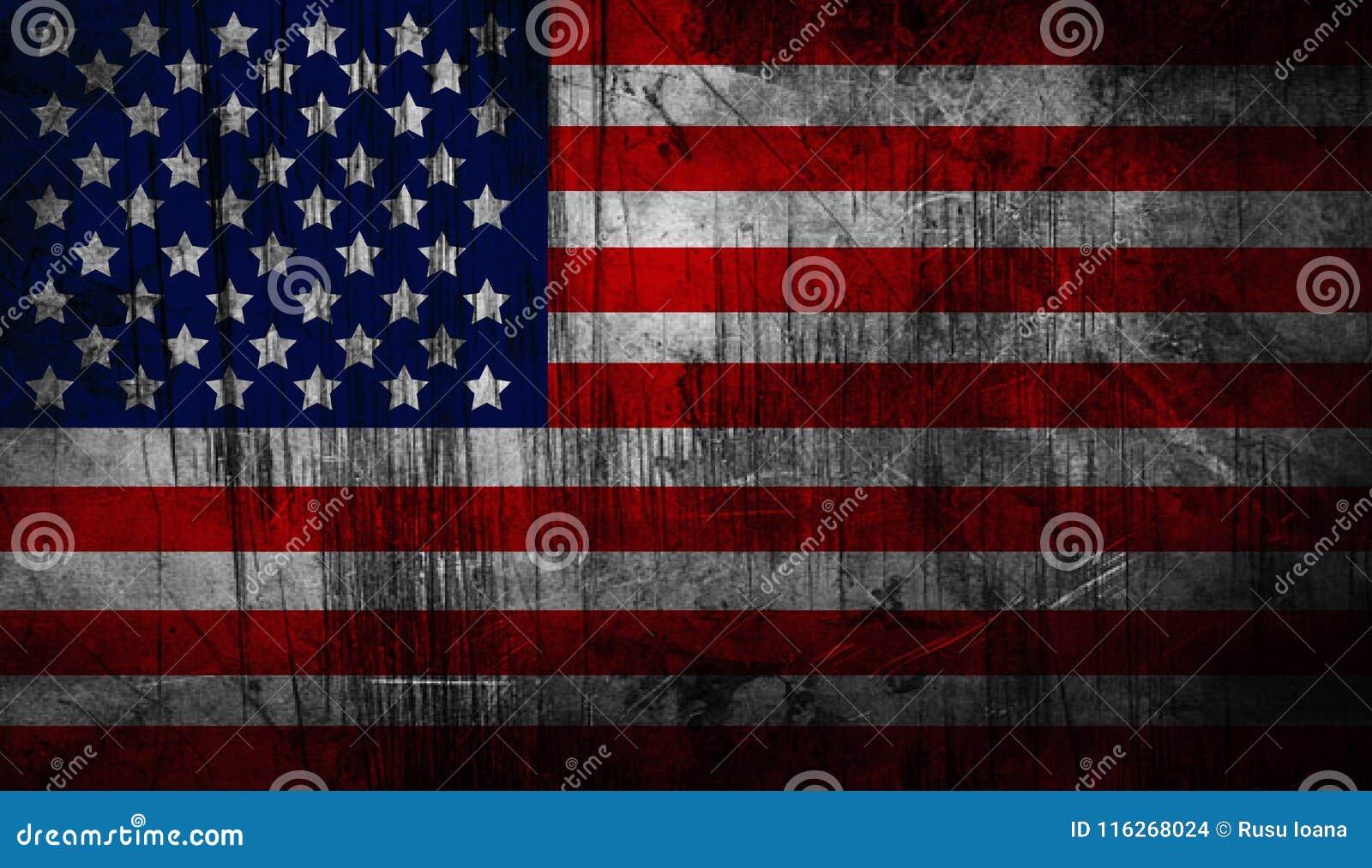 Indicateur national américain affligé