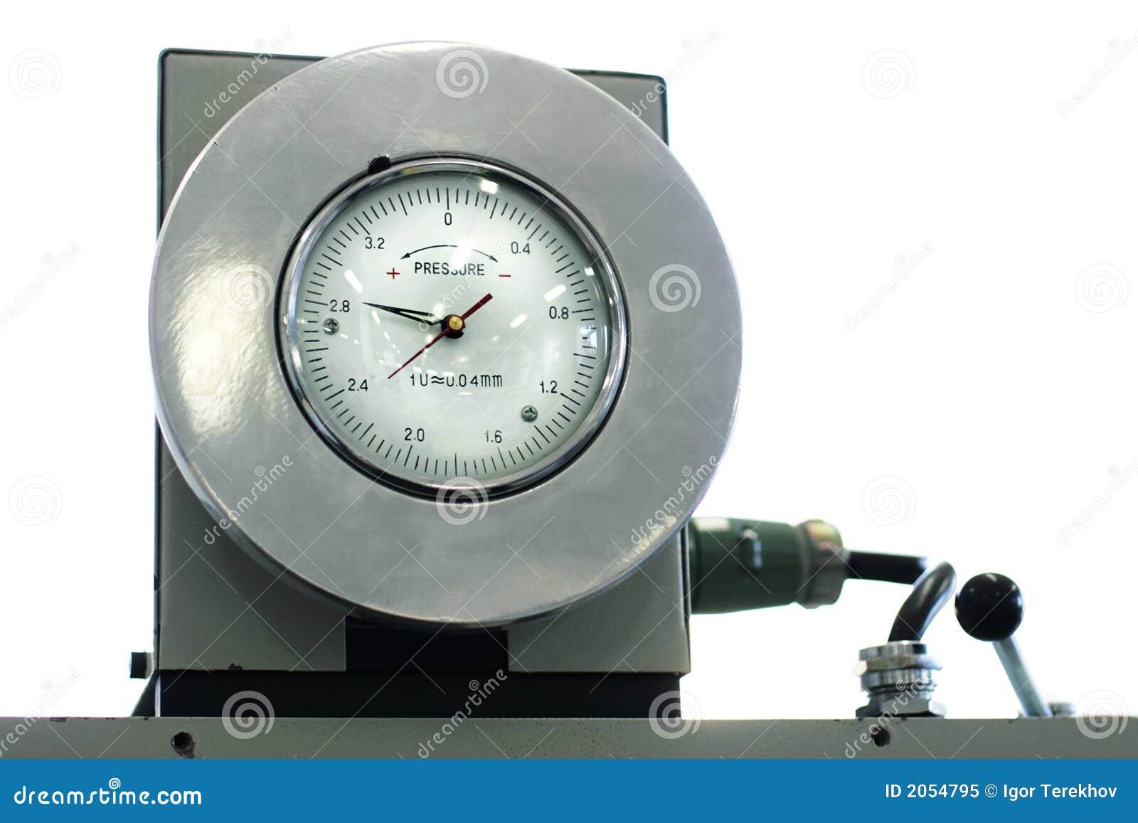 Indicator of pressure