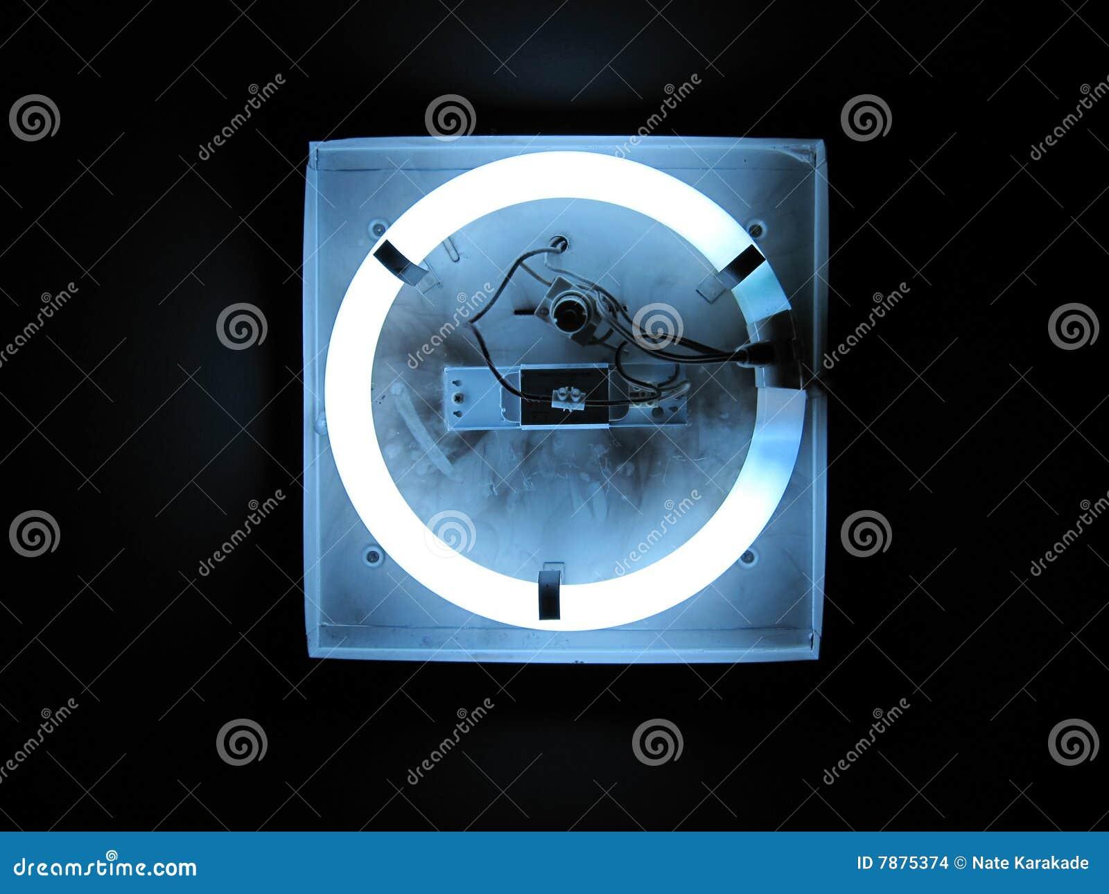 Schema Elettrico Neon Circolare : Indicatore luminoso al neon circolare fotografia stock