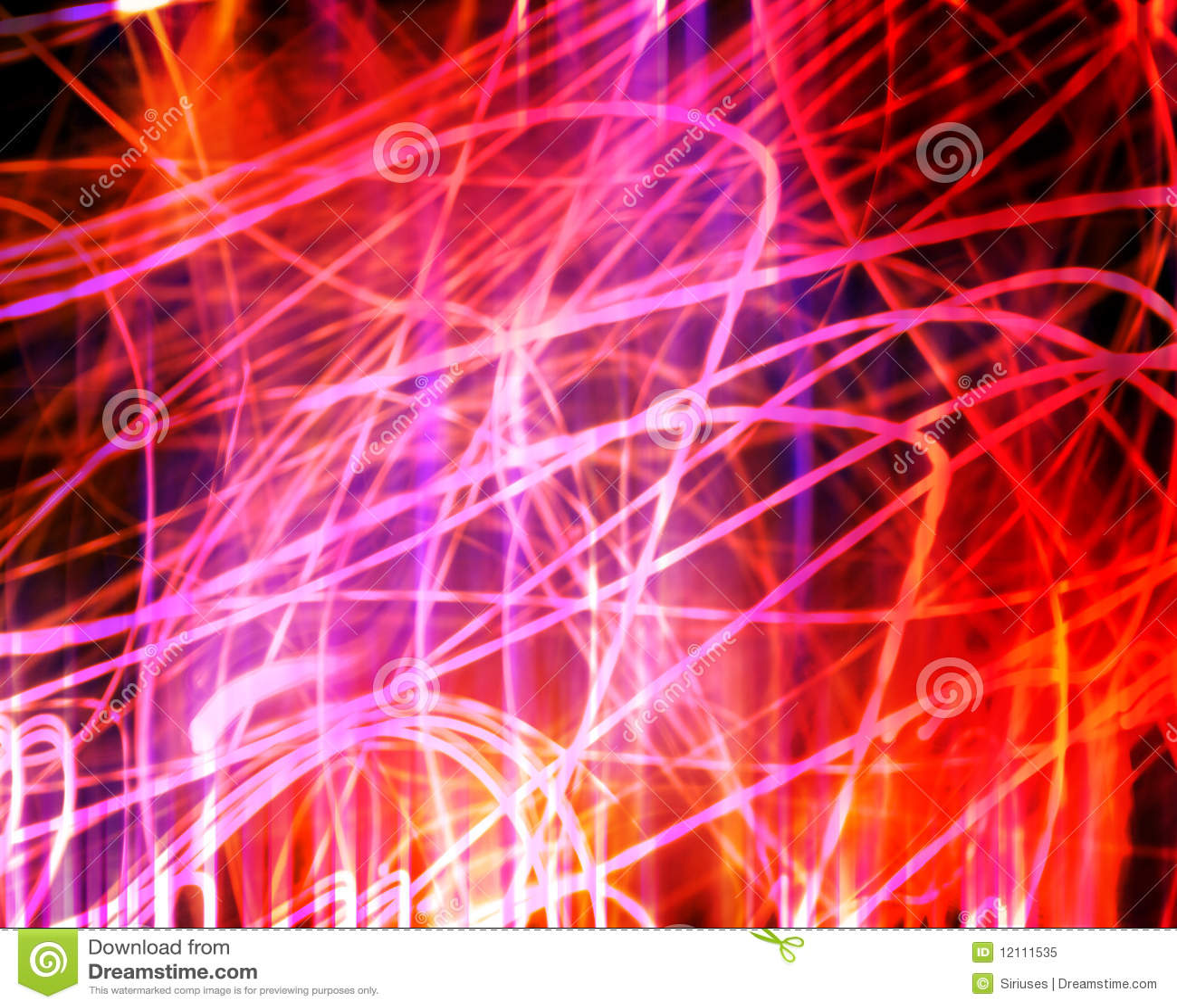 Indicatore luminoso al neon di caos