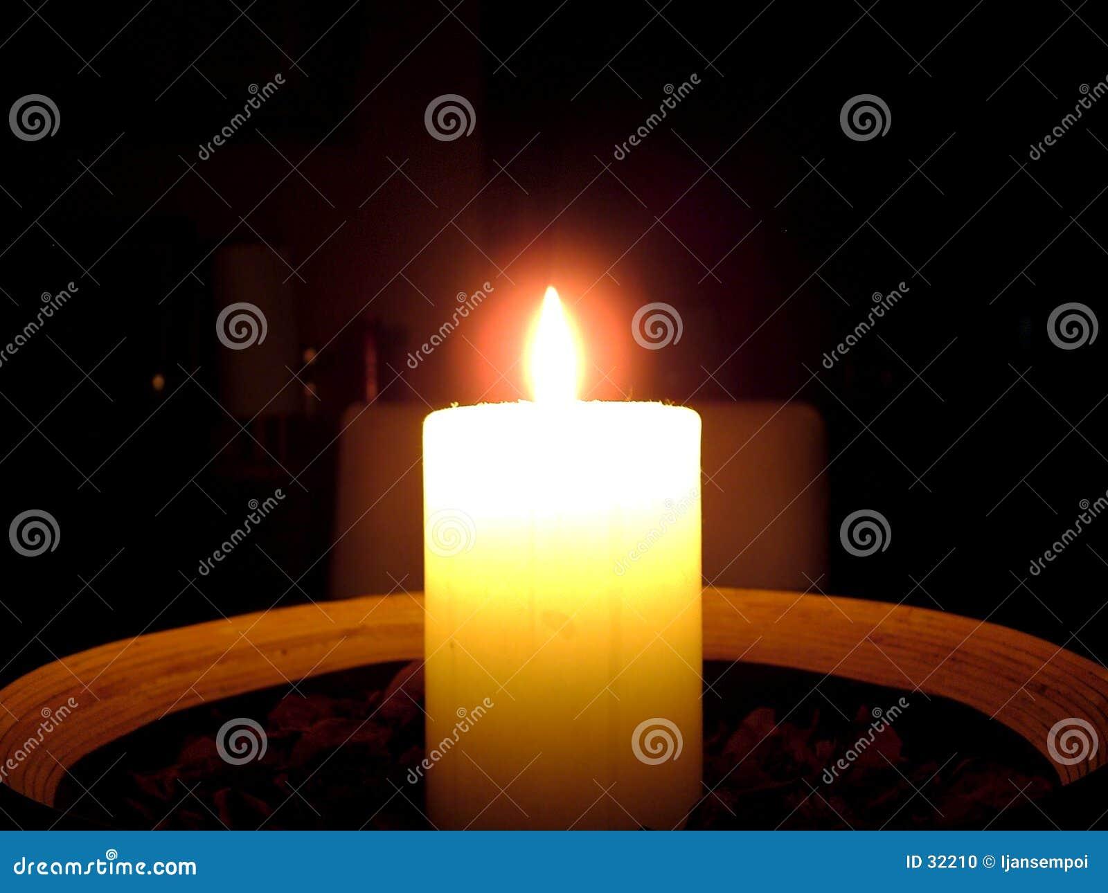 Indicatore luminoso della candela