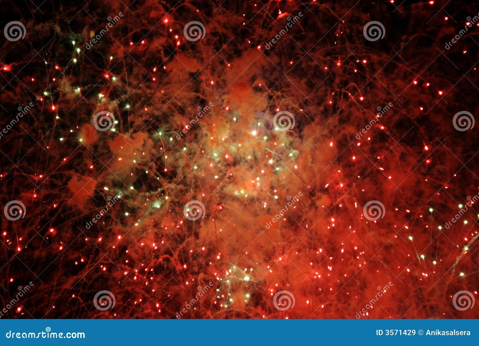 Indicatori luminosi astratti dei fuochi d artificio