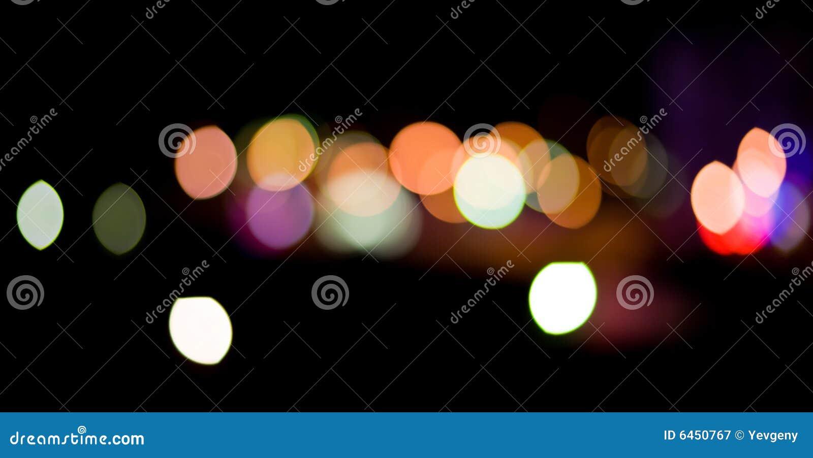 Indicatori luminosi della città