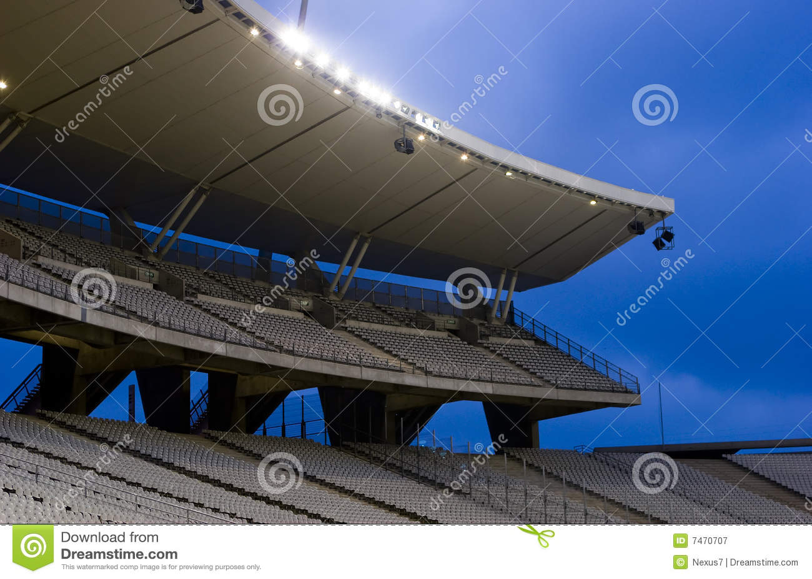 Indicatori luminosi dello stadio sopra