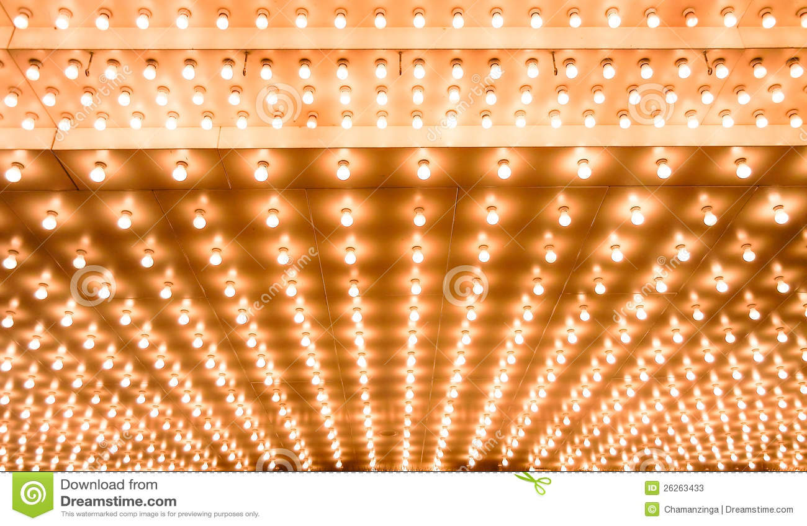 Indicatori luminosi di teatro