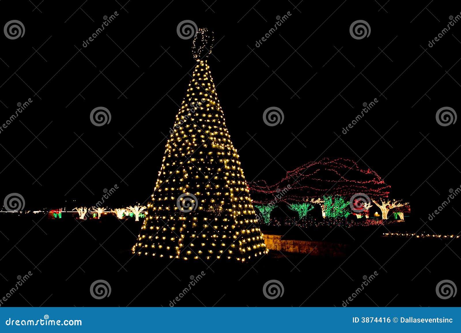 Illuminazione alberi da giardino natale luci led per