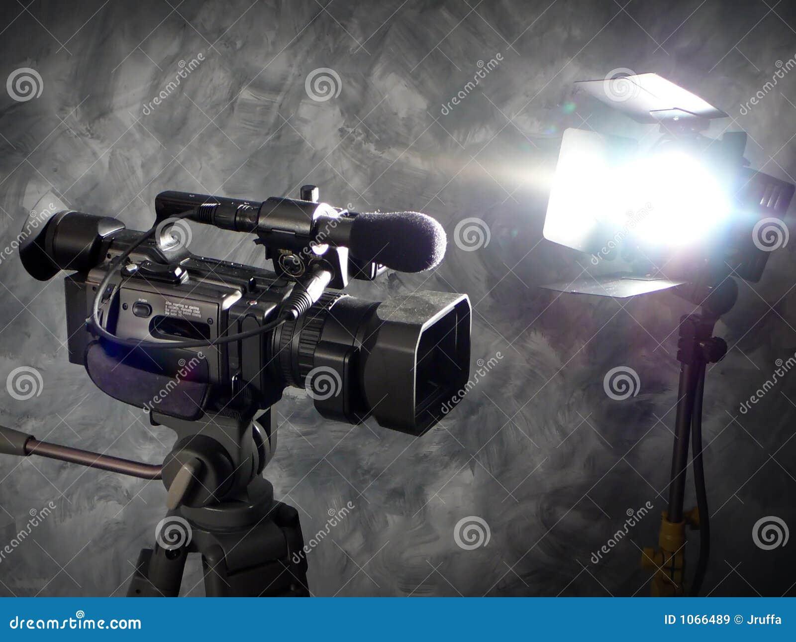 Indicatori luminosi, macchina fotografica, azione!