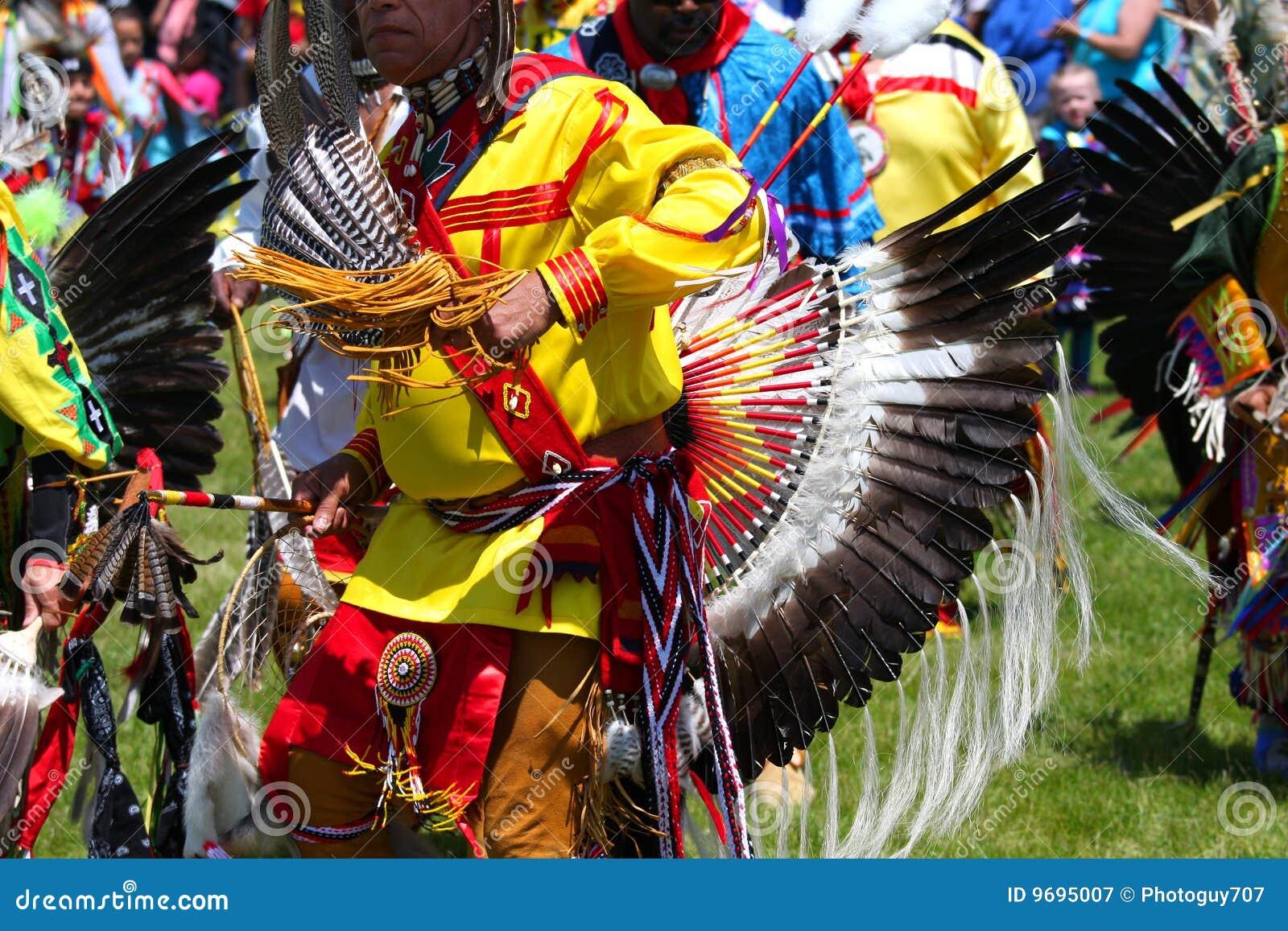 Indien américain de danse