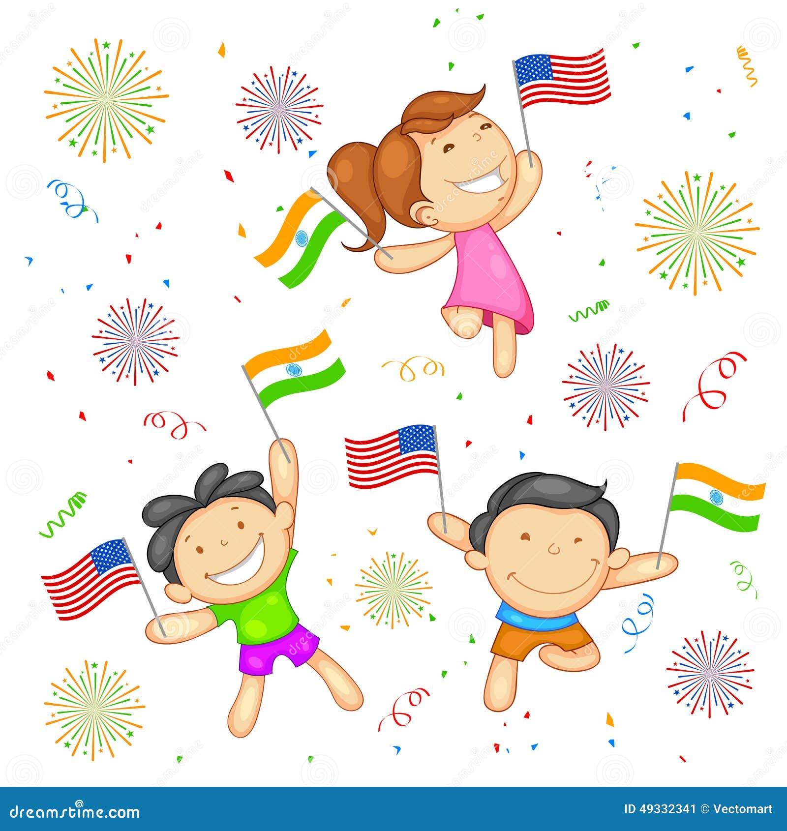 Indien-Amerika förhållande