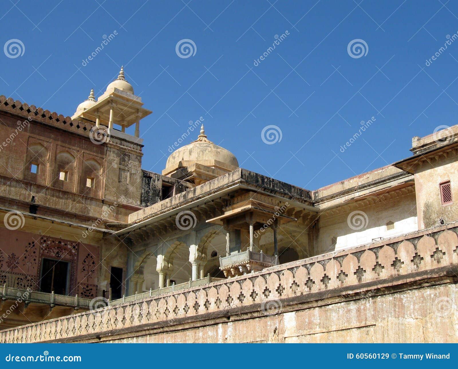 Indien arkitektur Amber Fort