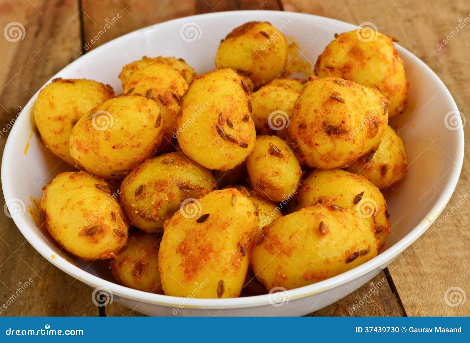 Indien Fried Potato