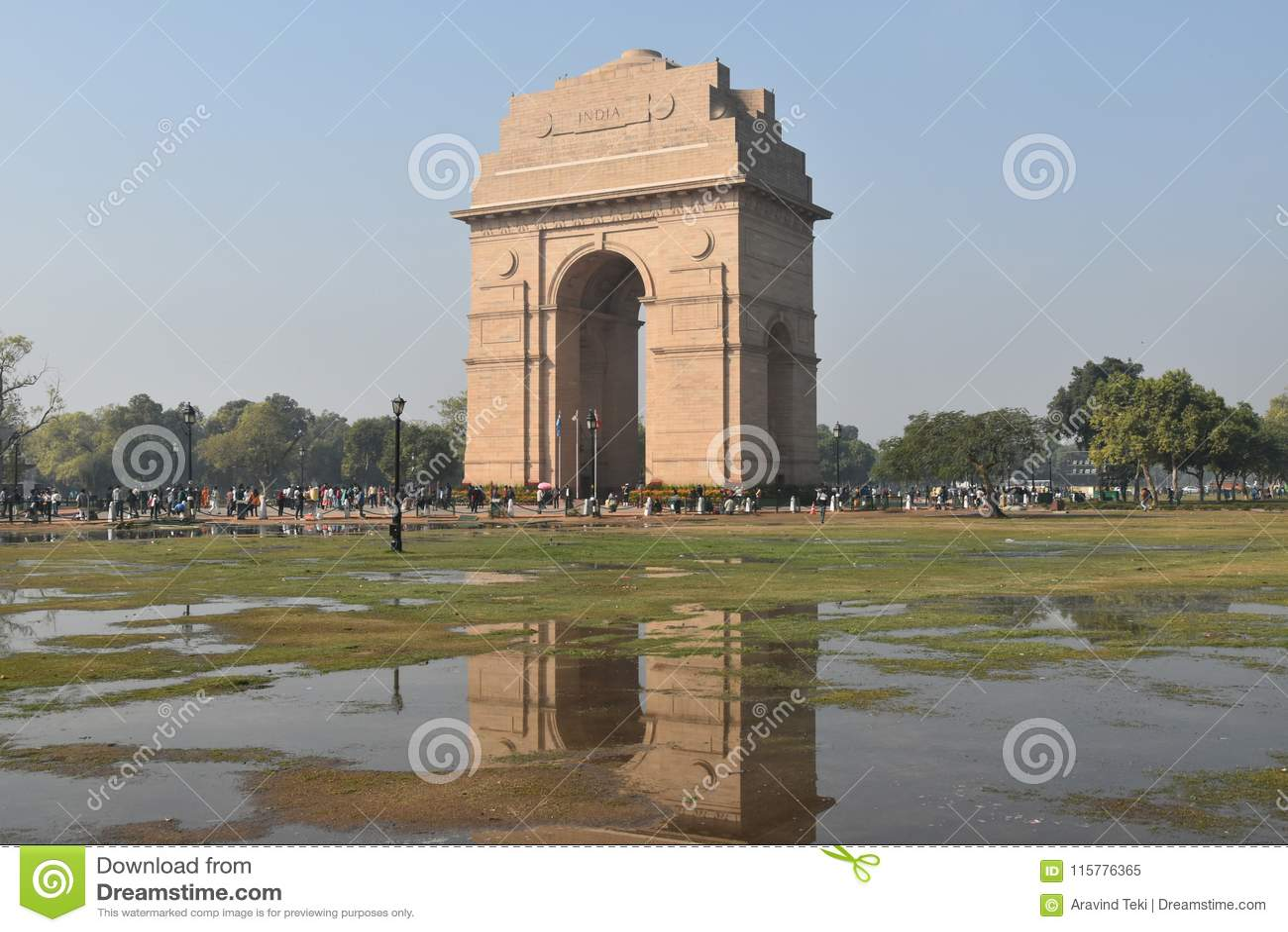 Indien-Tor, Neu-Delhi, Nord-Indien