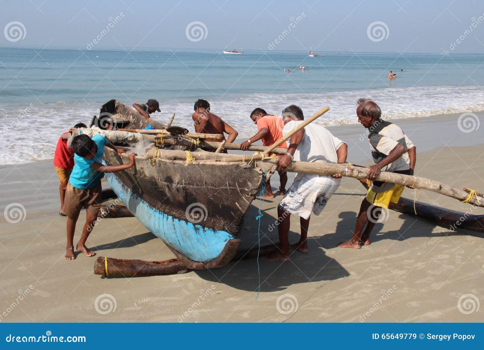 Indiens sur le travail quotidien