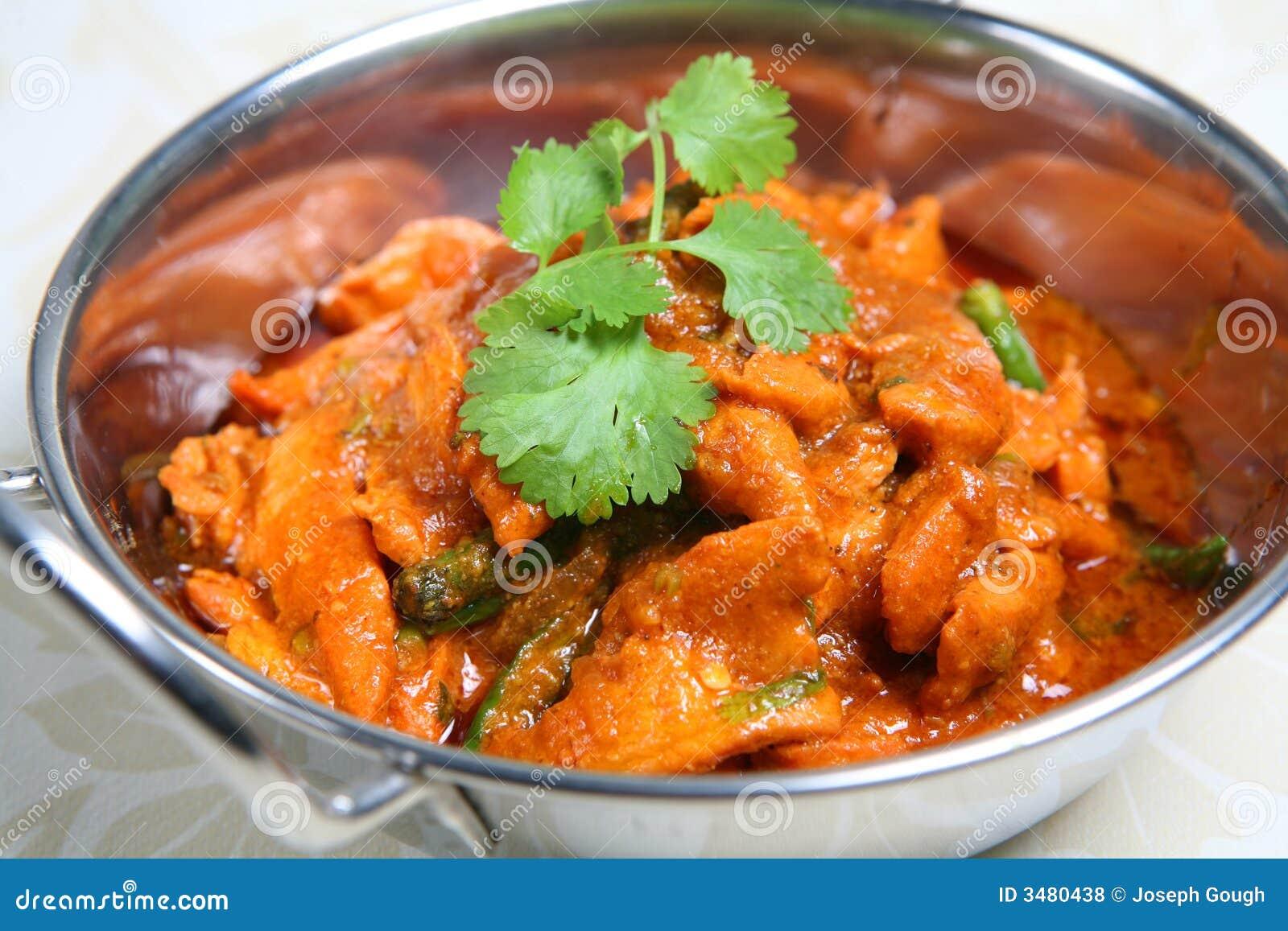 Indier för mat för balticurrymaträtt