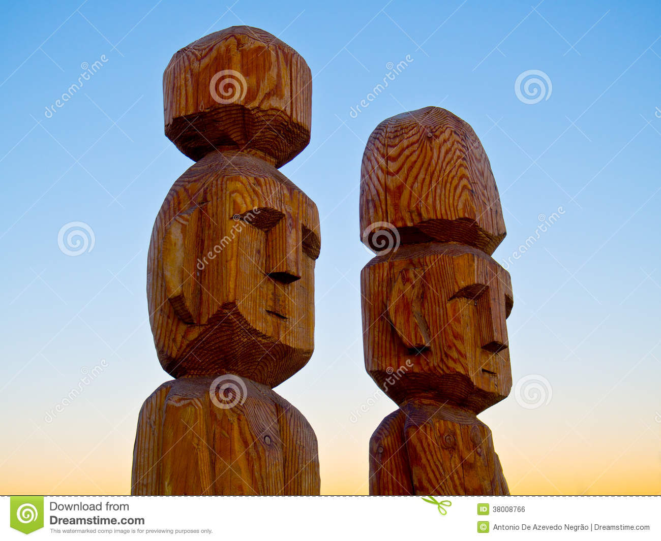 Indigenous Sculpture Royalty Free Stock Image Image