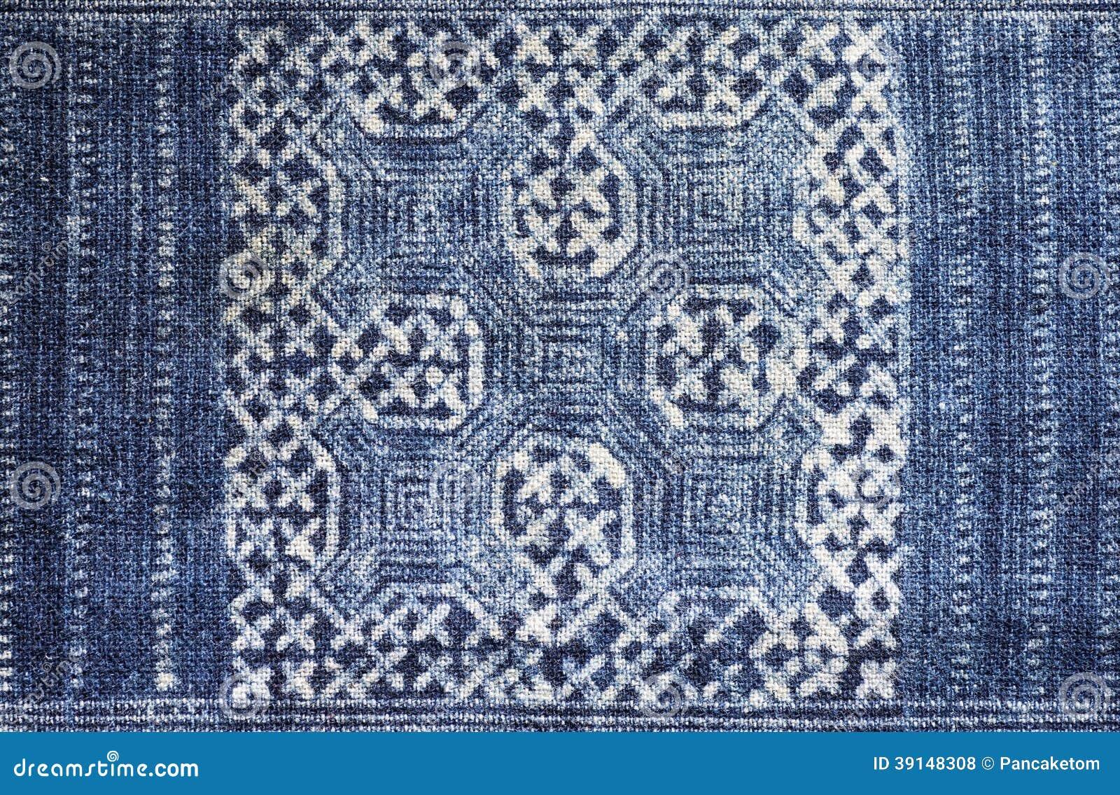 indigo dyed batik cloth stock photo image 39148308. Black Bedroom Furniture Sets. Home Design Ideas