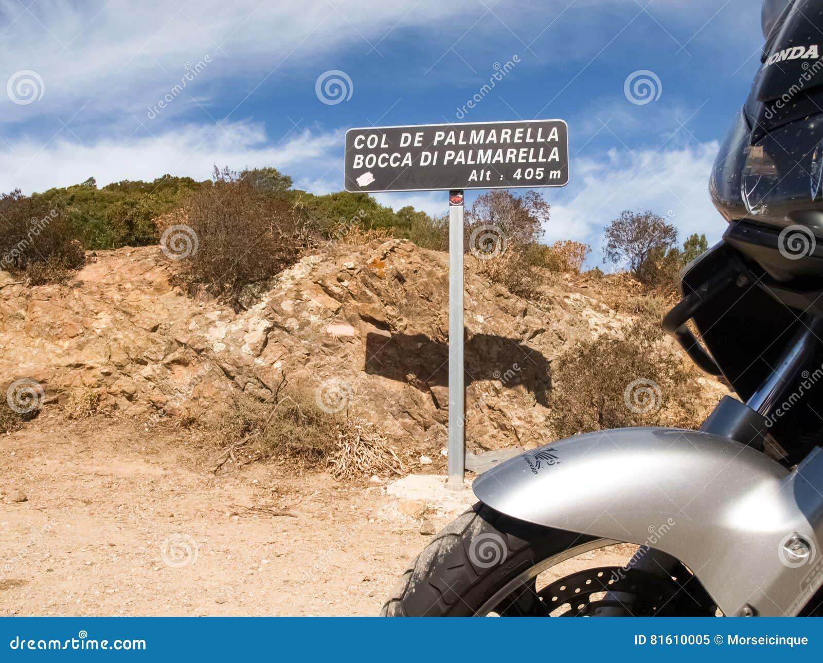Indikativ skylt av Palmarella