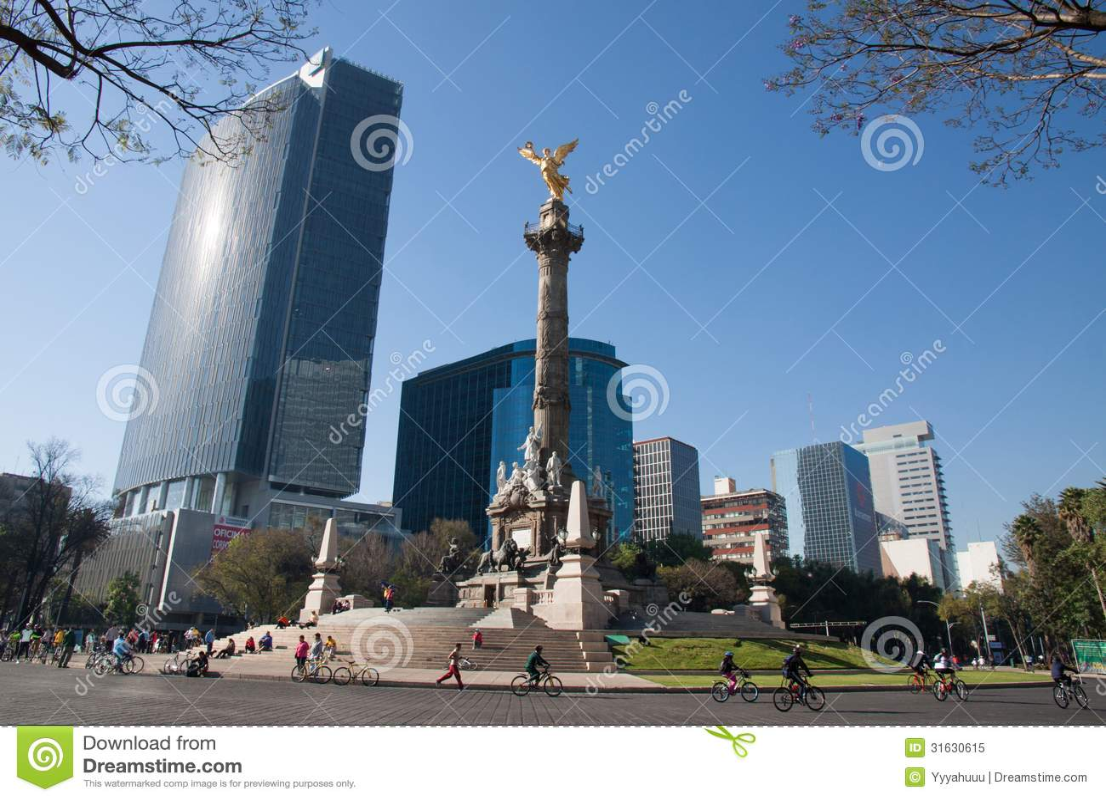 Indipendence Monumet, Meksyk