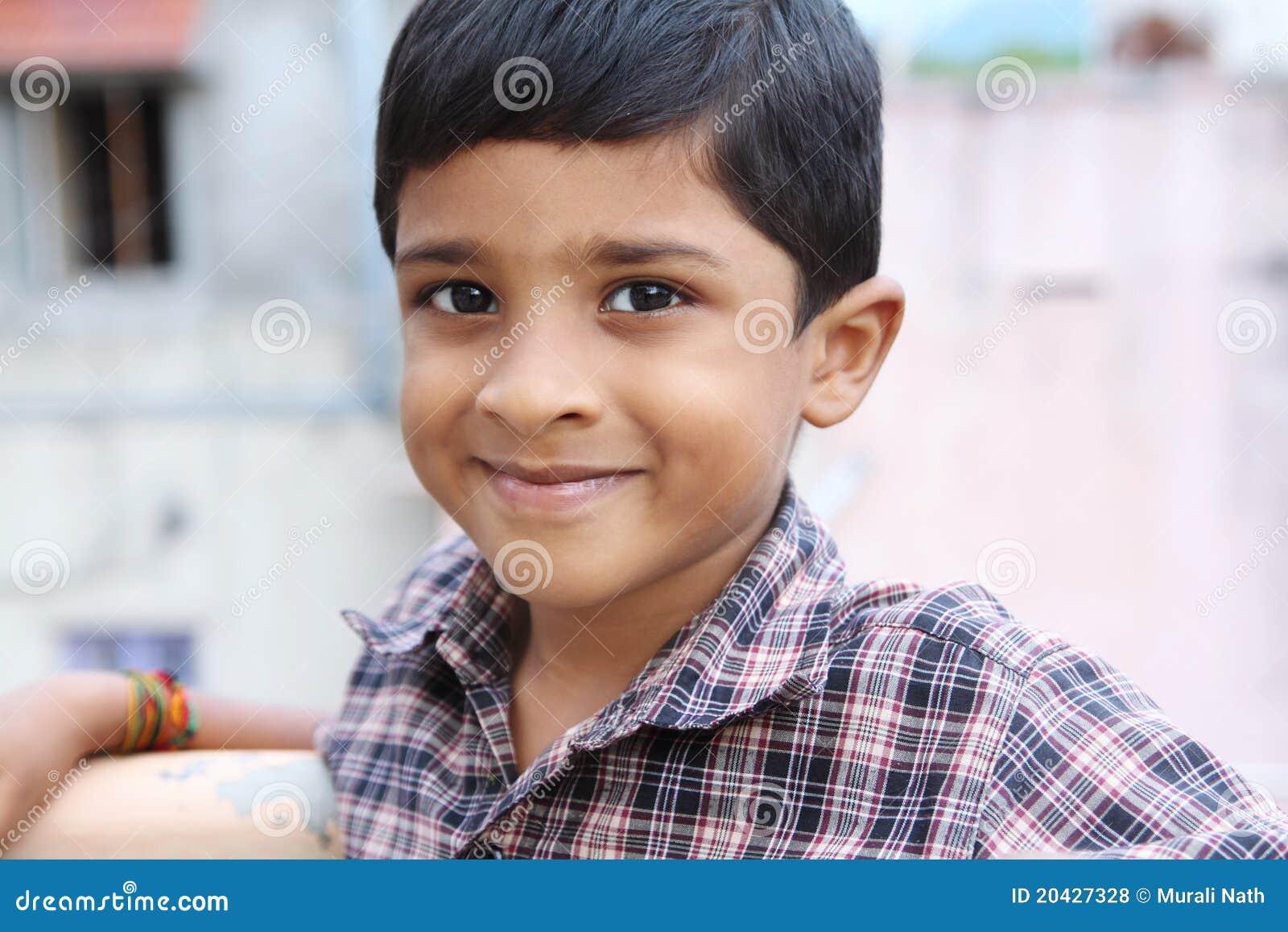 Indisch Leuk Little Boy