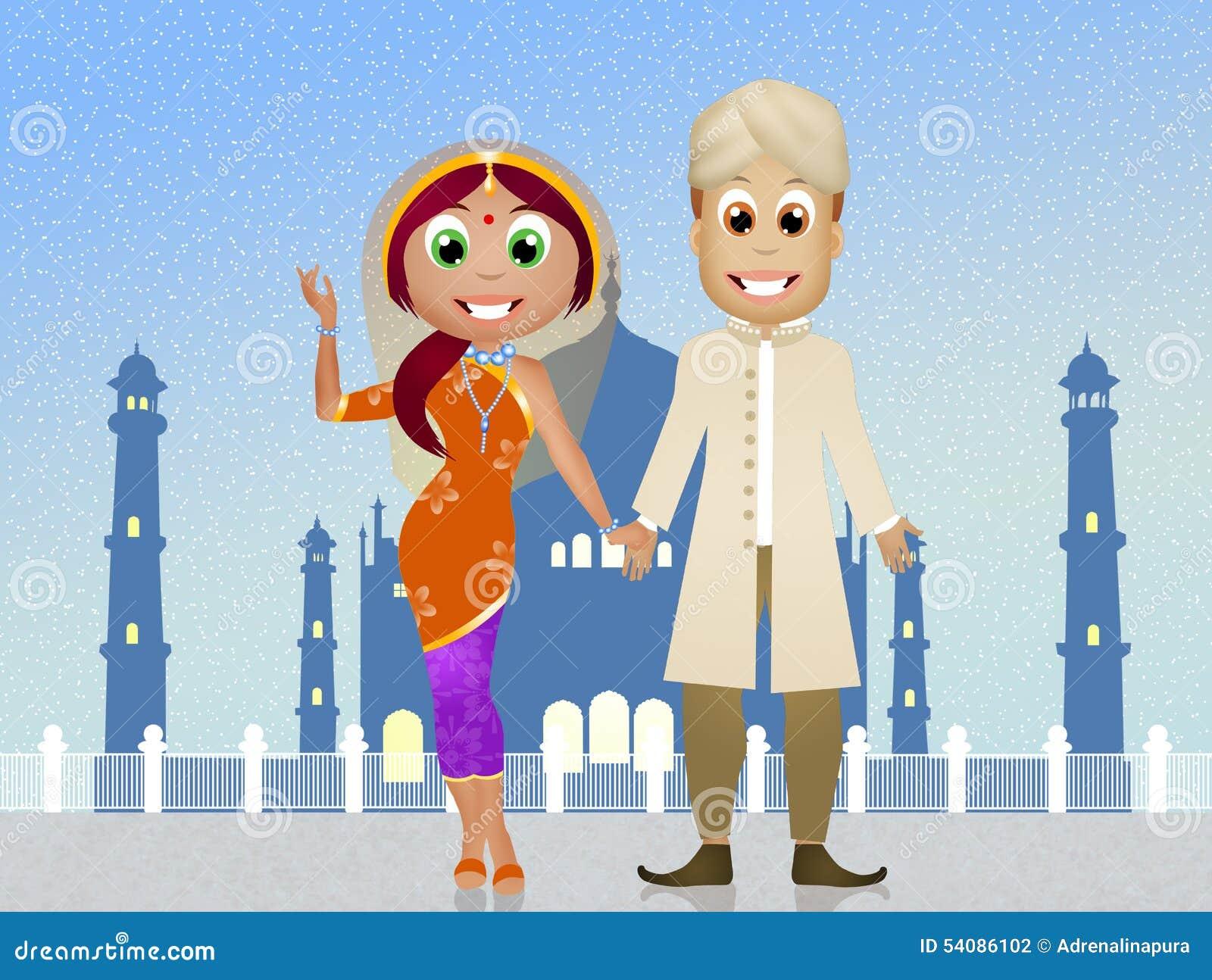 Indisch paar