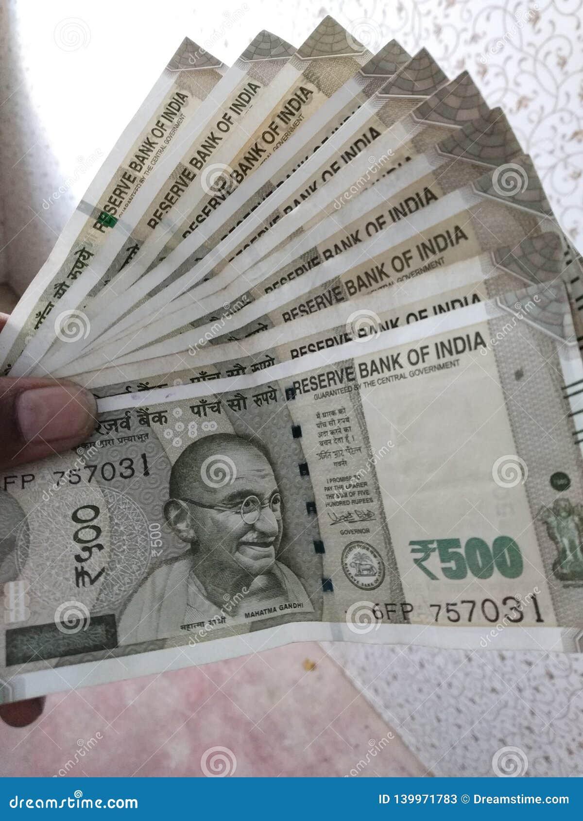Indische Bargeldanmerkungen