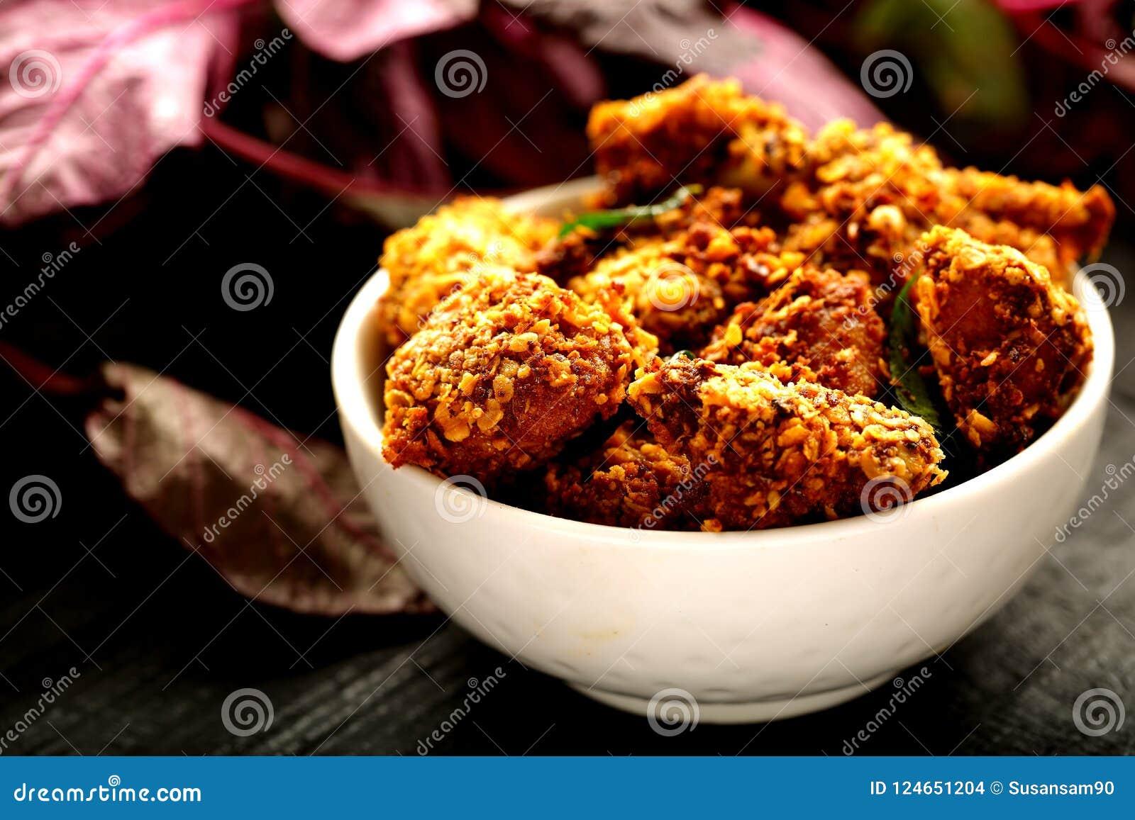 Indische cuisine- gebraden kip