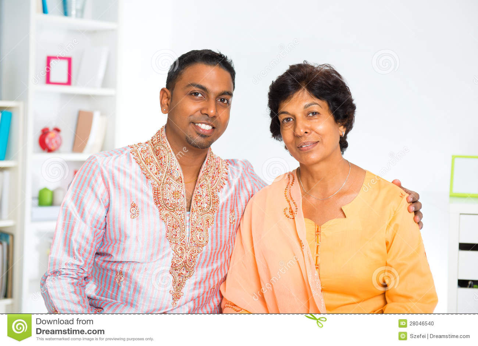 Indische Familie