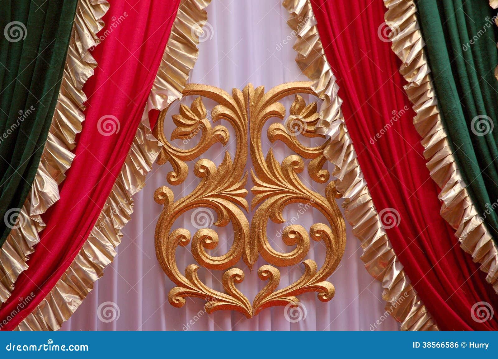 Indische Gewebe in Hochzeitsstadium
