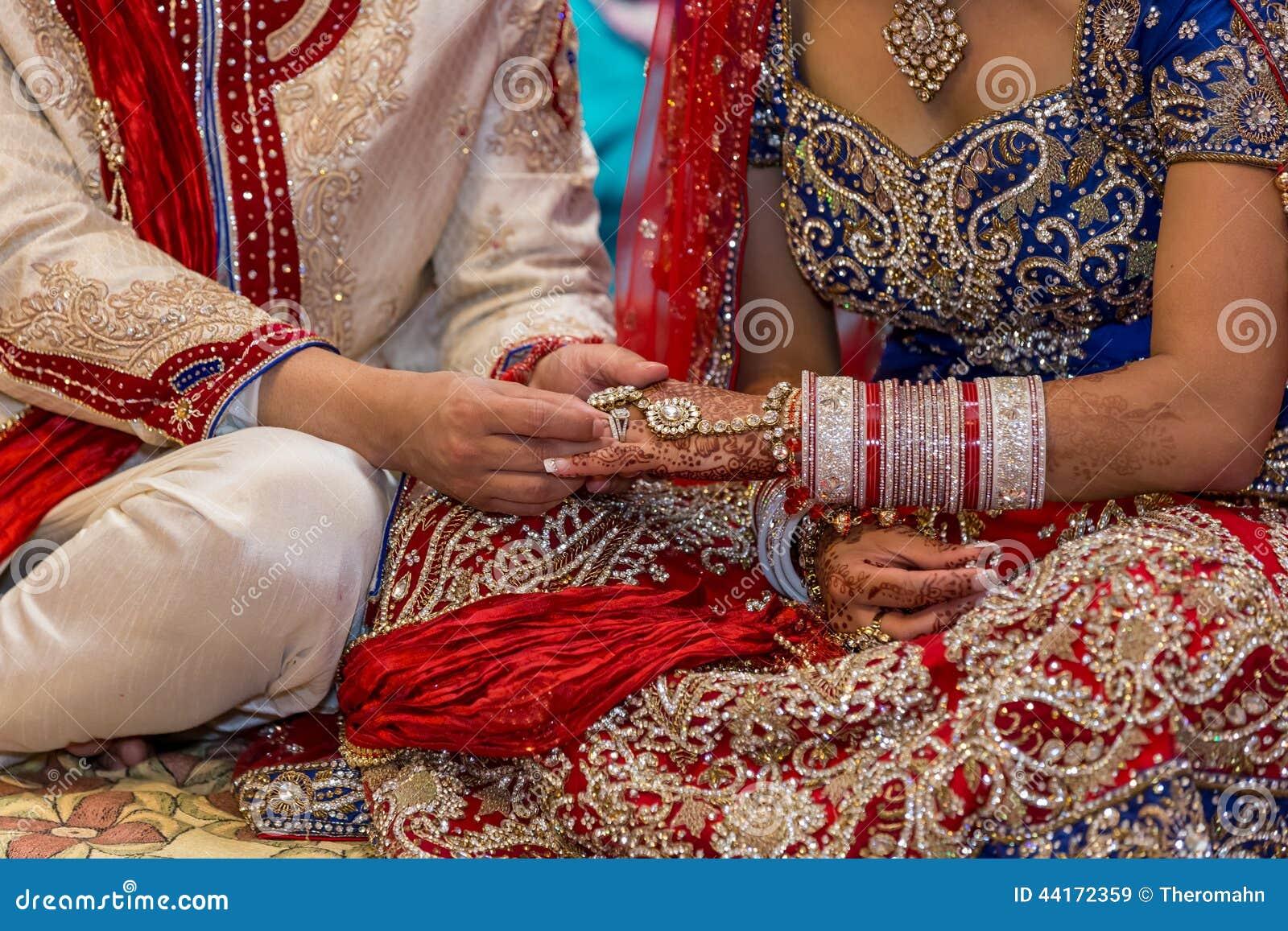 Indische Hochzeit Stockbild Bild Von Frau Paare Celebrate 44172359