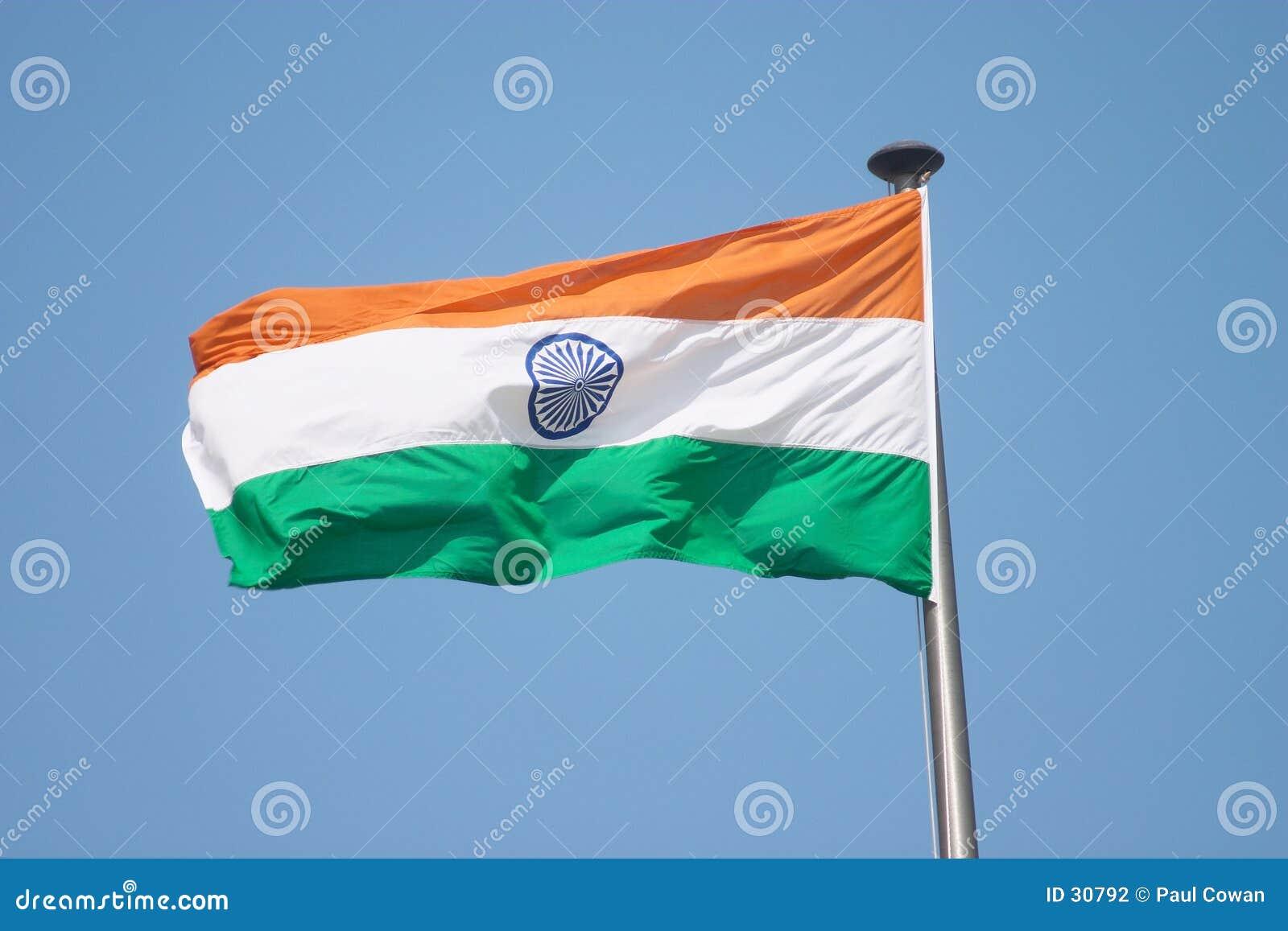 Indische Markierungsfahne