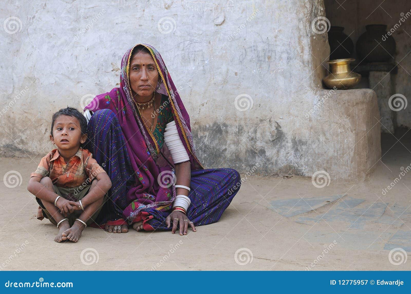 Scharfe Indische Mutter