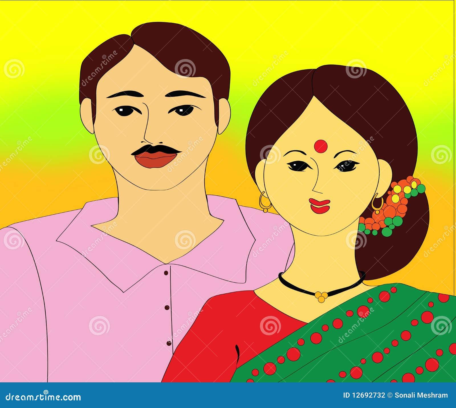 Indische Paare