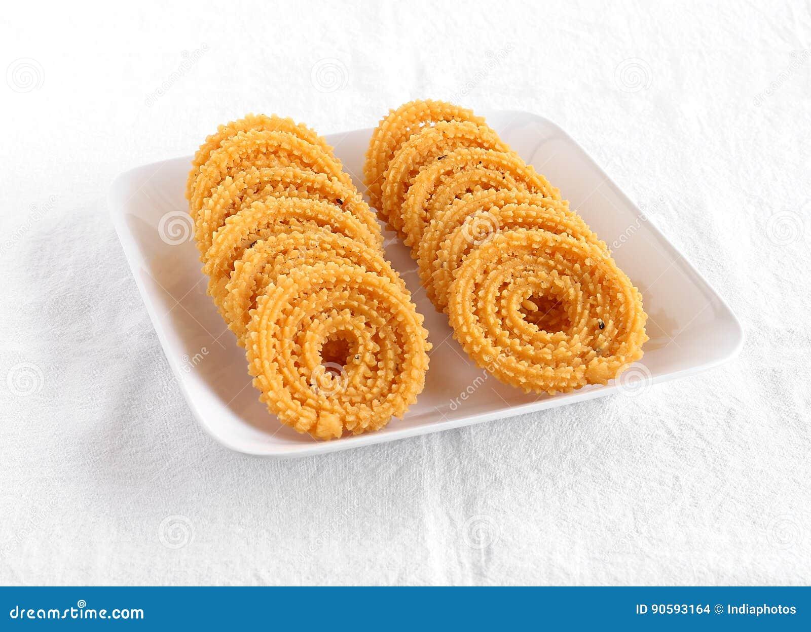 Indische Snack Chakli