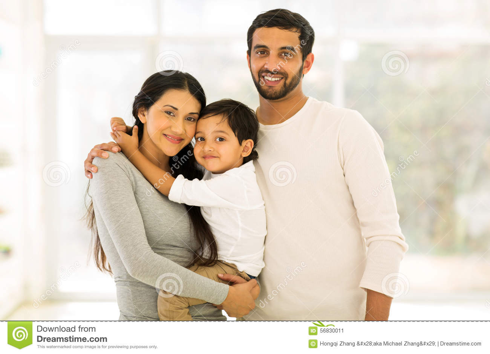 Indisches Familienporträt