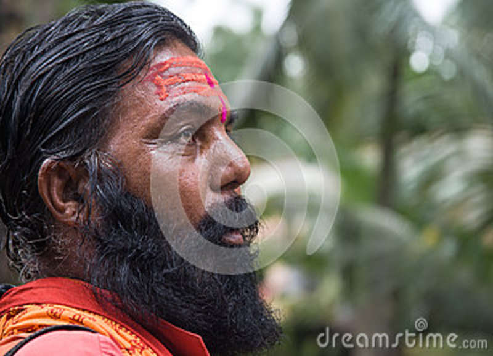Indisches Sadhu