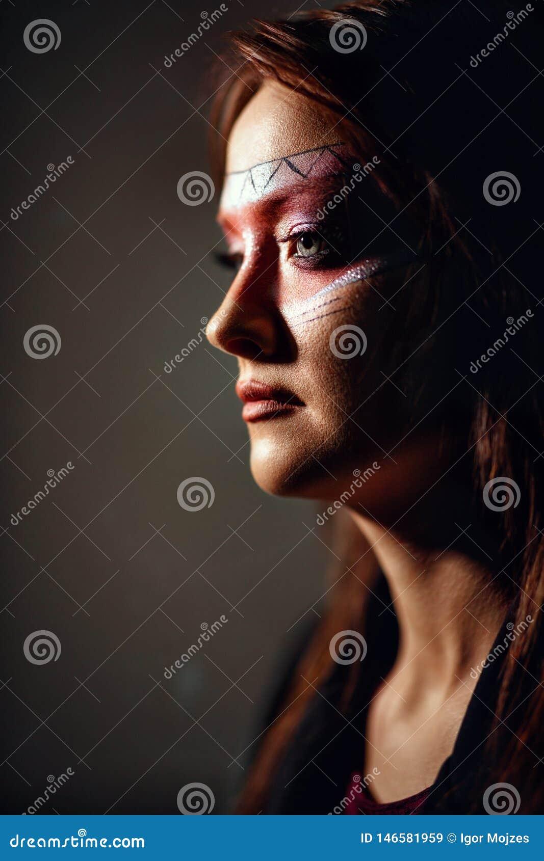 Indisk amerikansk kvinna