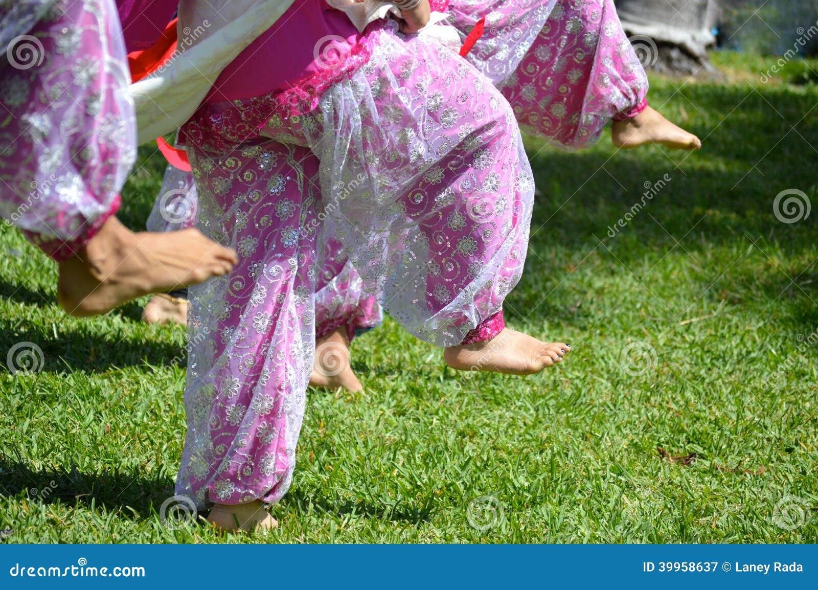 Indisk dansarefot
