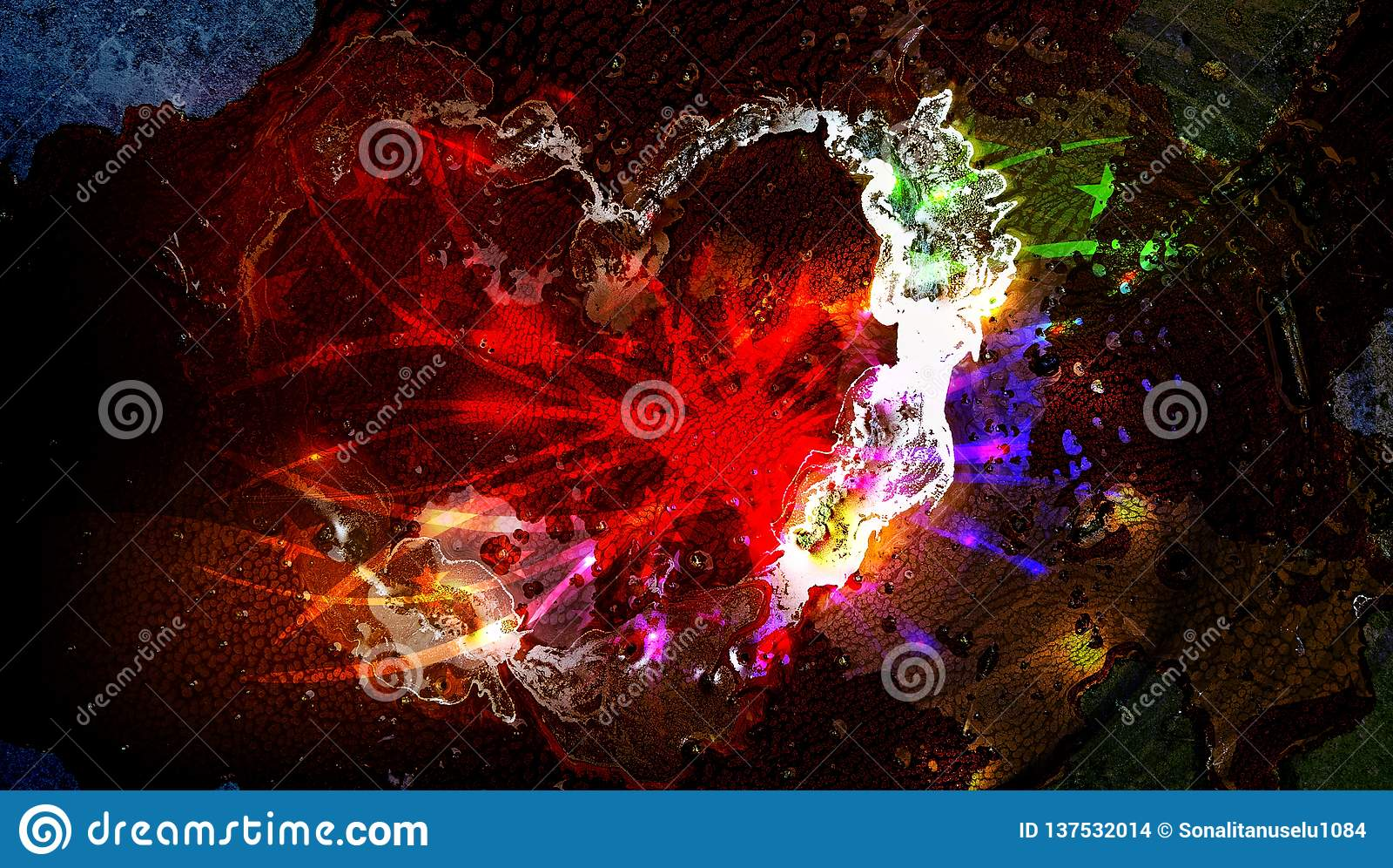 Indisk festival av färgrik ljus bakgrund för holi