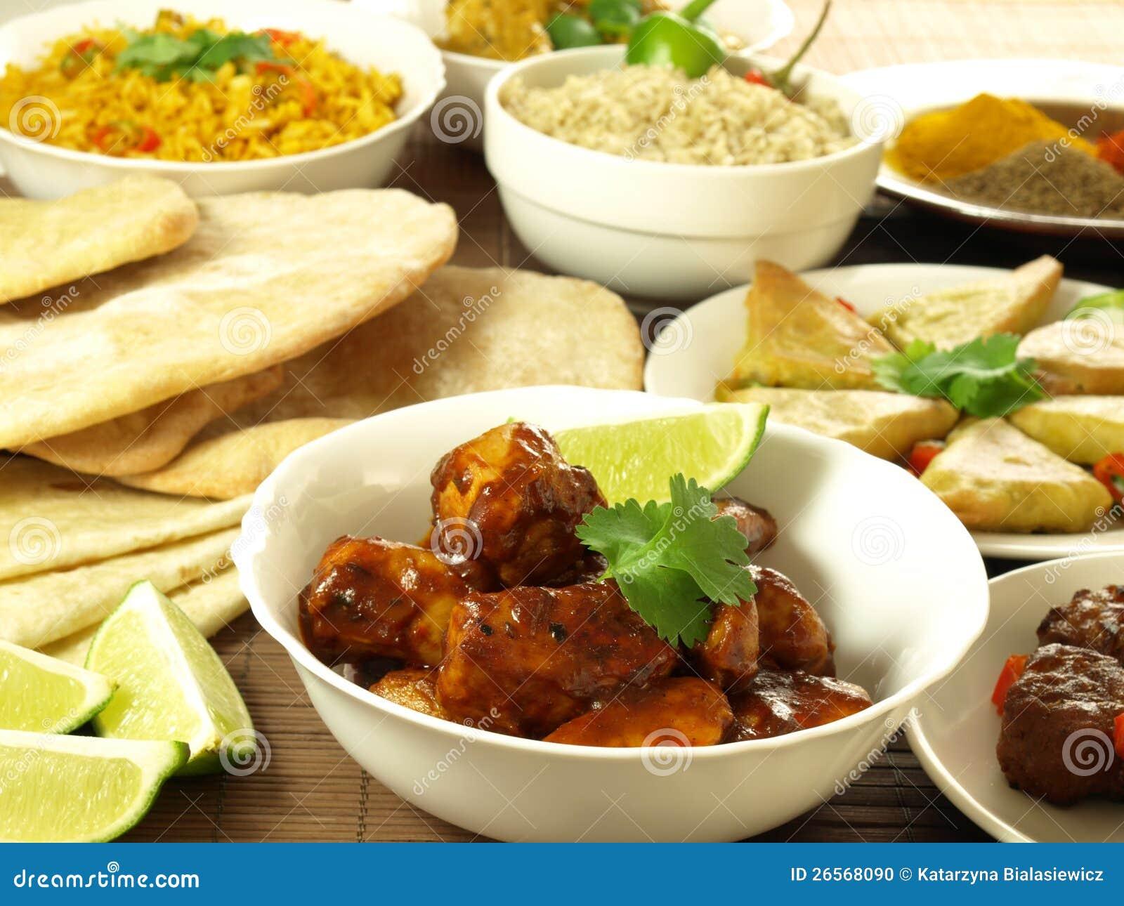 indisk festmåltid