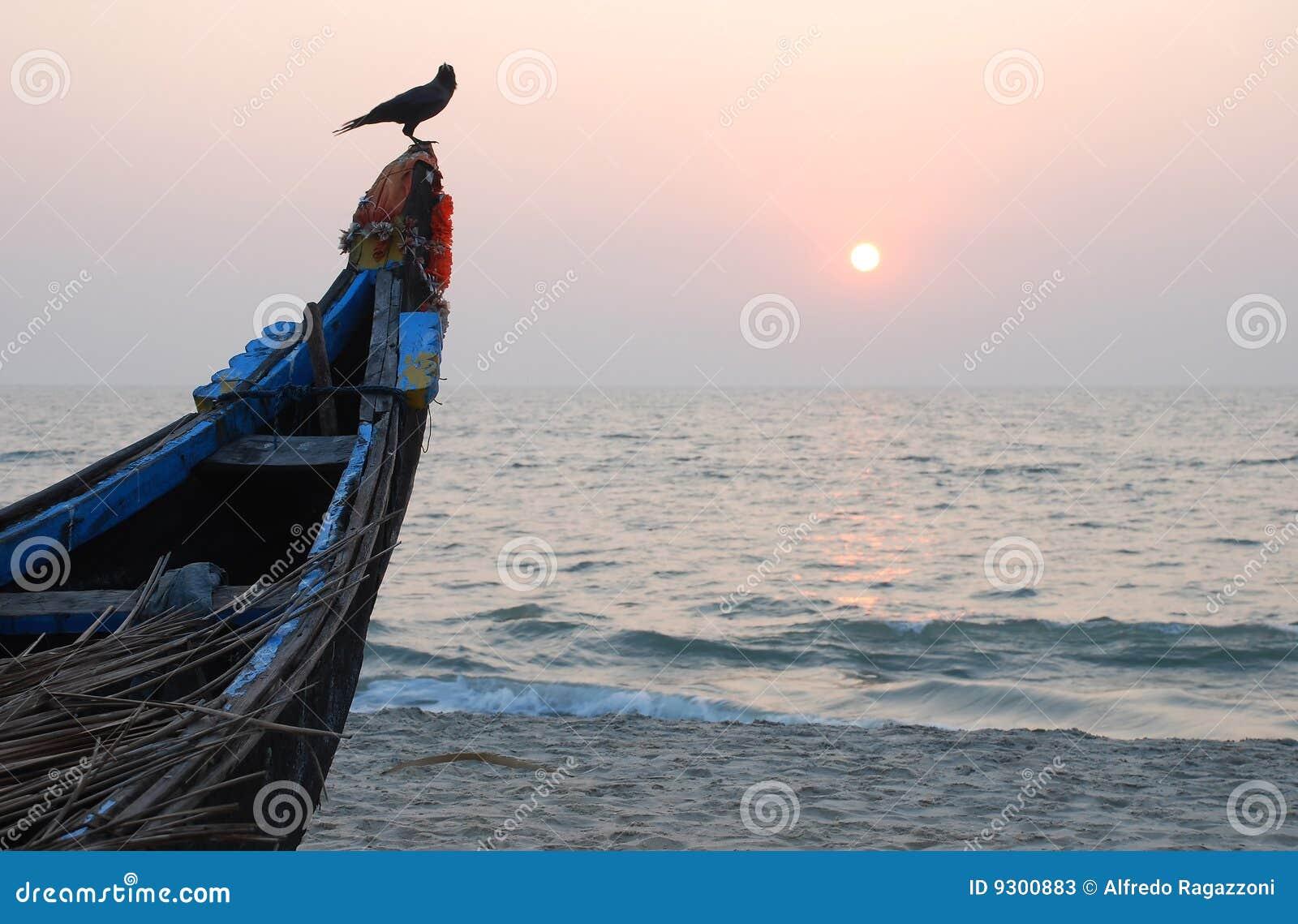 Indisk solnedgång