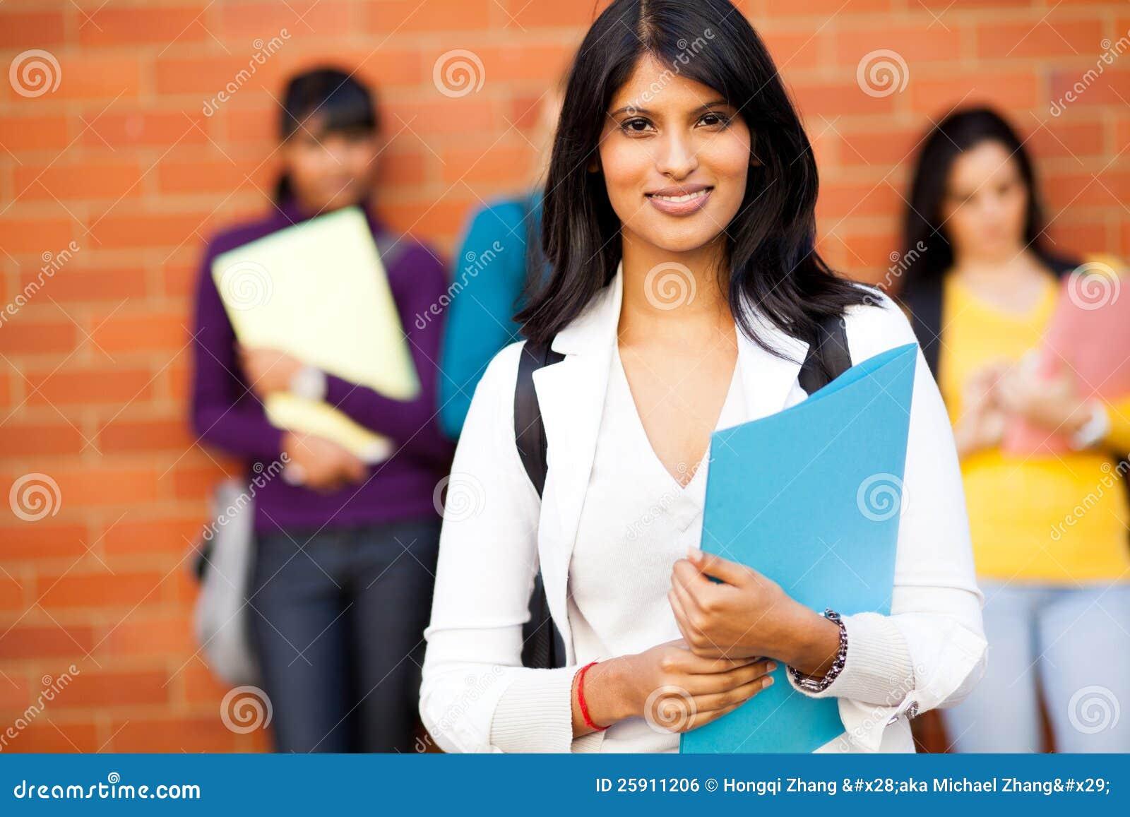 Indisk universitetardeltagare