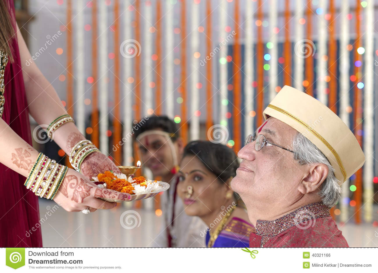 Indiska hinduiska bröllopritualer