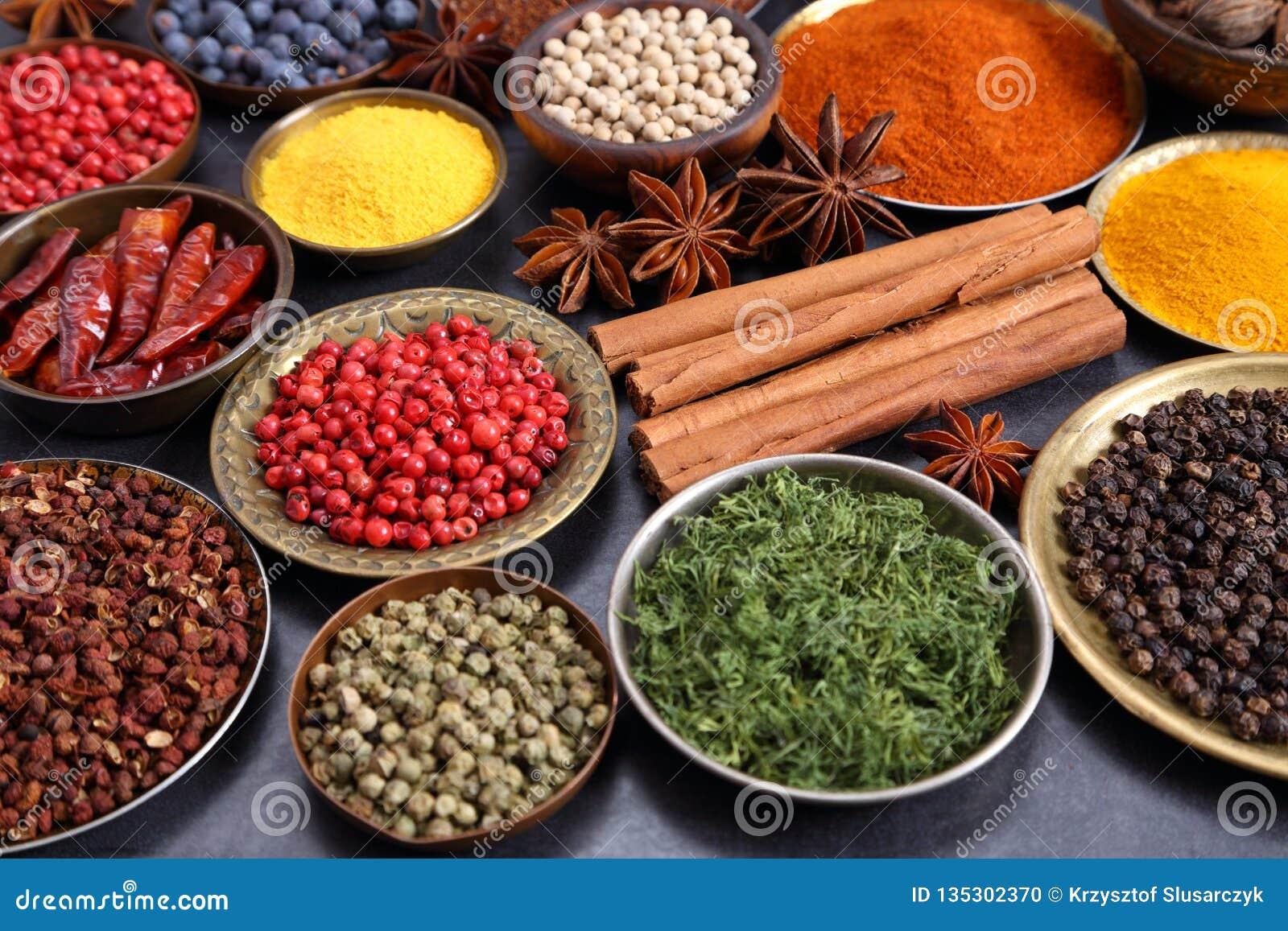 Indiska Kryddor Arkivfoto Bild Av Kryddor Indiska 135302370