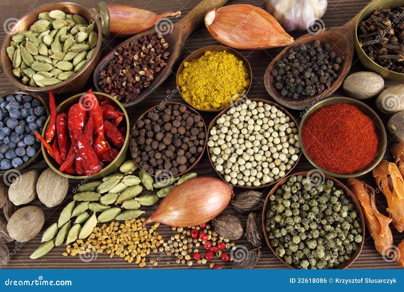 Indiska Kryddor Arkivfoto Bild Av Kryddor Indiska 32618086