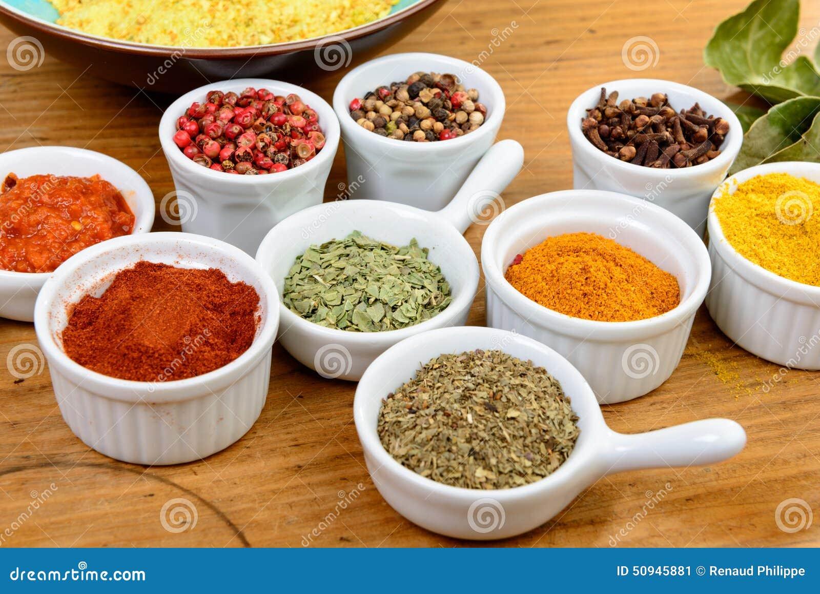 Indiska Kryddor Fotografering For Bildbyraer Bild Av Matlagning 50945881