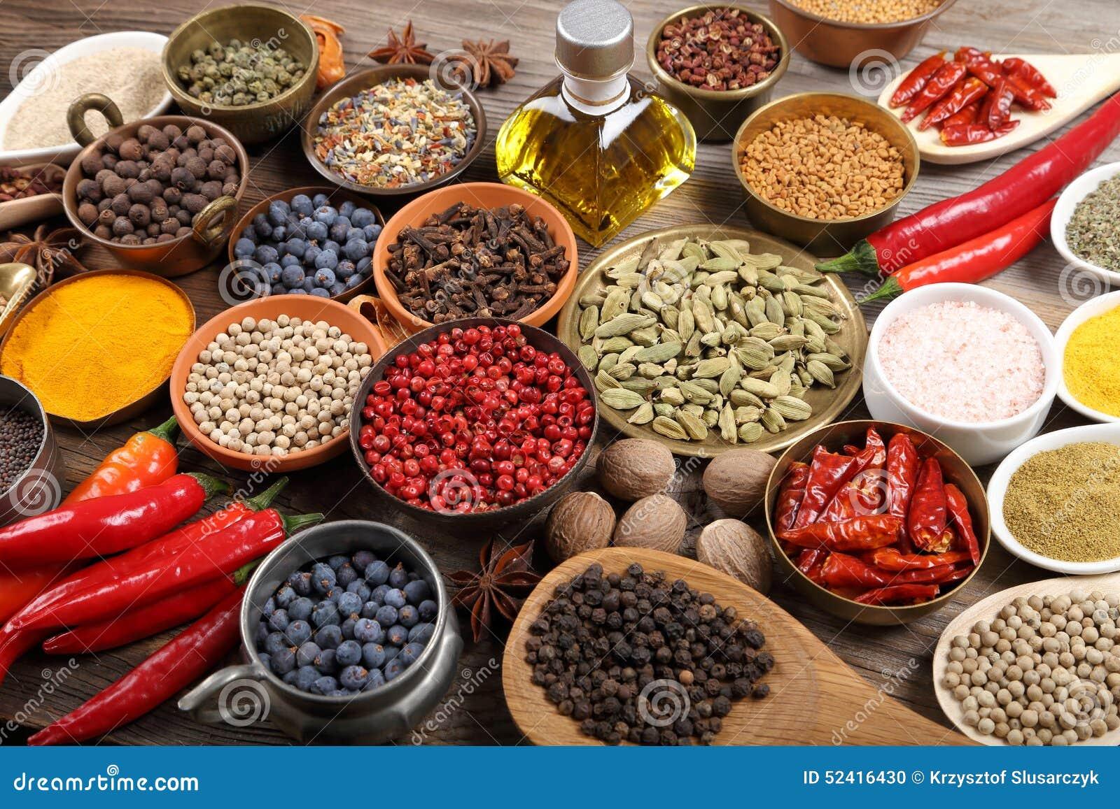 Indiska Kryddor Arkivfoto Bild Av Kryddor Indiska 52416430