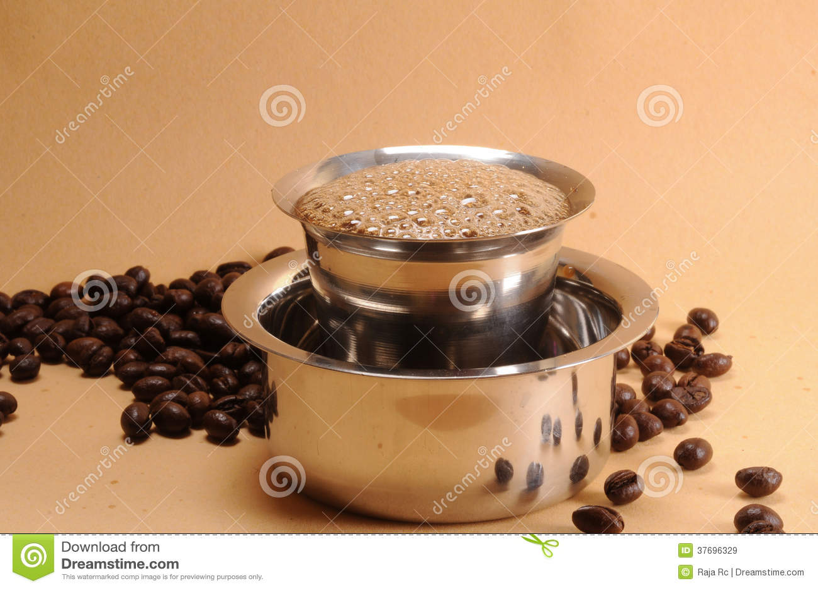 indisk kaffe