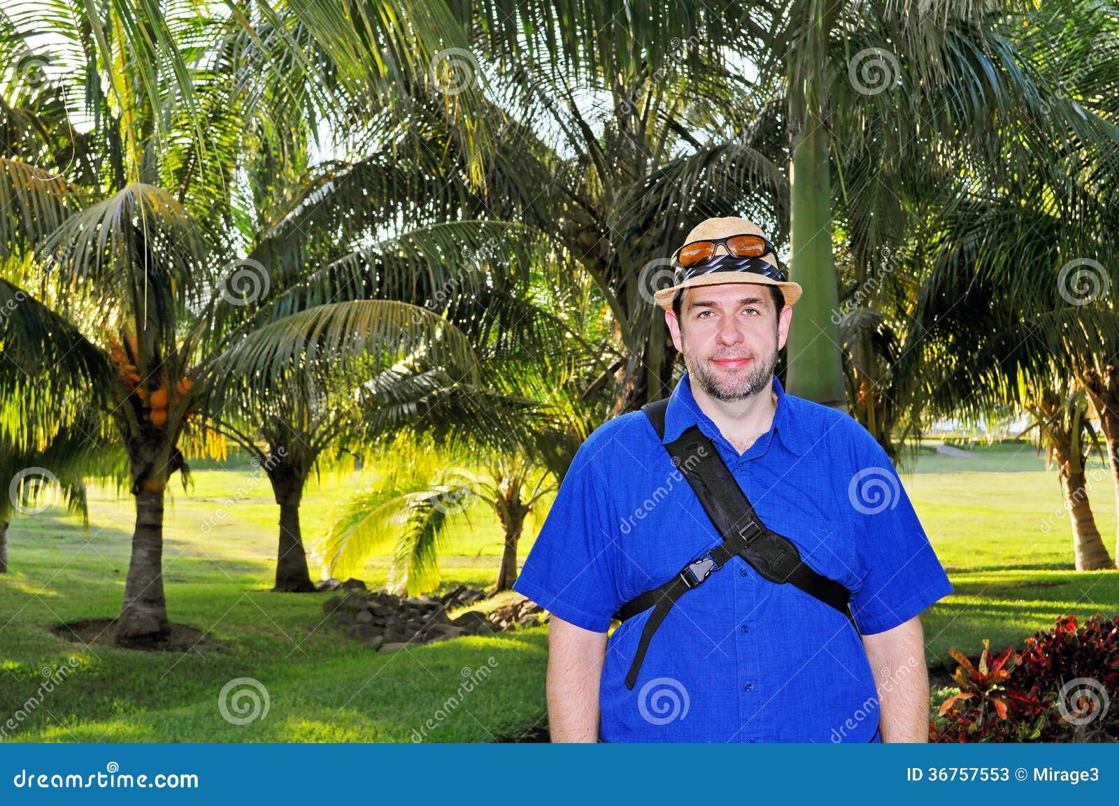 Indivíduo do turista