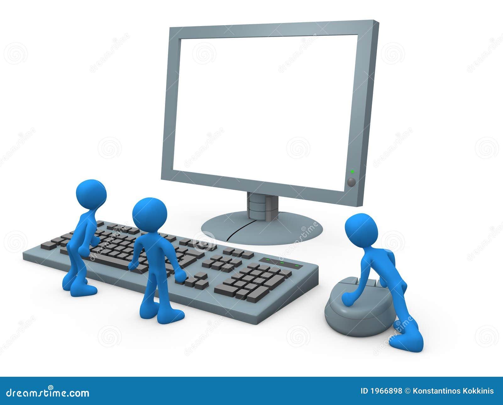 Indivíduos do computador